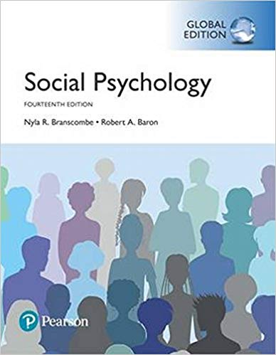 Social Psychology 14td Ed. Global Edition